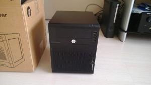 Старичок MicroServer предыдущего поколения