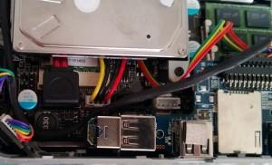 Внутренний USB с установленным Bluetooth адаптром